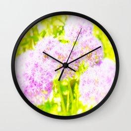 Allium Giganteum - Love Of Flowers Wall Clock