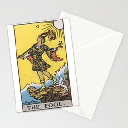 Tarot Card - The Fool Stationery Cards