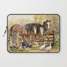 Featherwell Farm Laptop Sleeve