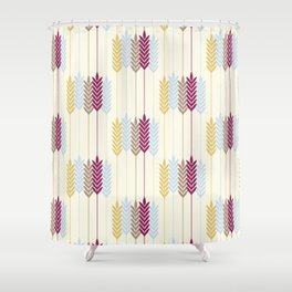 Harvest Wheat Shower Curtain