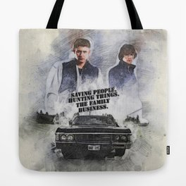 The Family Business Tote Bag