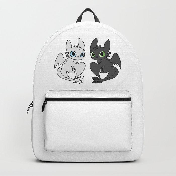 Night Fury & Light Fury Backpack