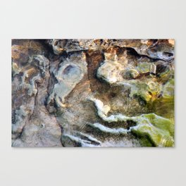 Beach Abstract #2 Canvas Print