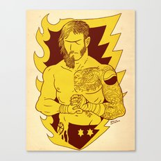 the Best and the Beard Canvas Print