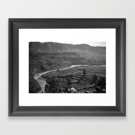 Colca Canyon Framed Art Print