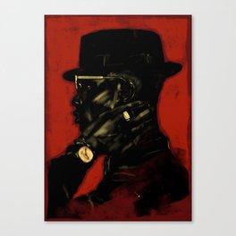 Black Man Magic Canvas Print