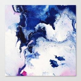 Riveting Abstract Watercolor Painting Canvas Print