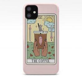 COFFEE READING UPDATED (DARK) iPhone Case