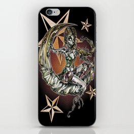 Champagne Of The Dead iPhone Skin