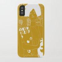 gustav klimt iPhone & iPod Cases featuring Gustav Klimt by Ian Cy