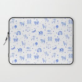 Blue Zodiac Laptop Sleeve