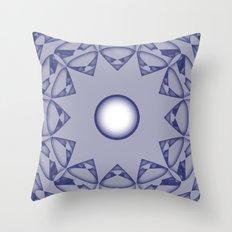 Pattern Print Edition 1 No. 5 Throw Pillow
