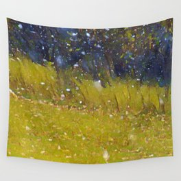 Snow in October Wall Tapestry