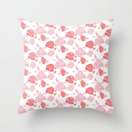 Roses pattern 3 Throw Pillow