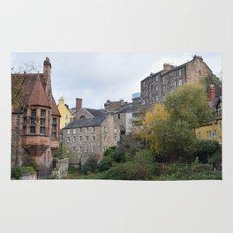 Dean Village in Edinburgh Rug