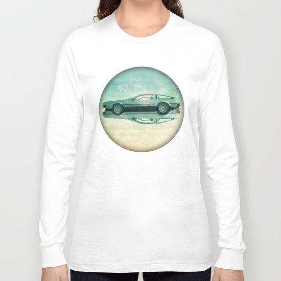 Siamese  Delorean Long Sleeve T-shirt