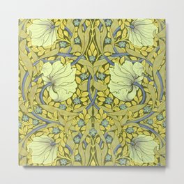 """William Morris """"Pimpernel"""" 6. Metal Print"""