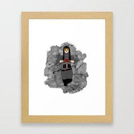 Nevernight Mia Corvere Framed Art Print