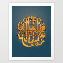 Cheers Queers Art Print