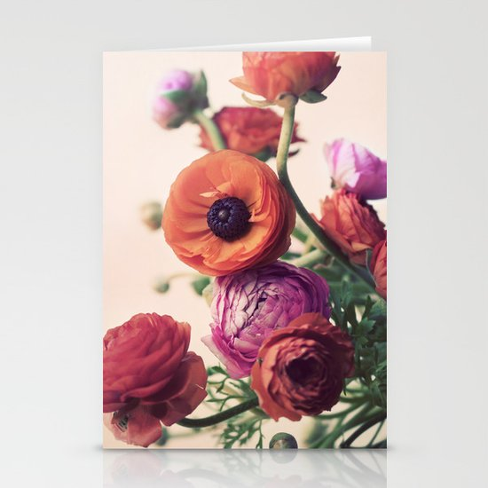 Ranunculus Stationery Cards