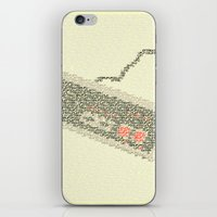 code iPhone & iPod Skins featuring Konami Code by Robotic Ewe