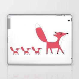 Strawberry Foxes Laptop & iPad Skin