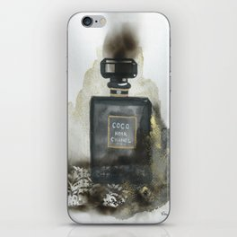 Perfume Fire illustration iPhone Skin