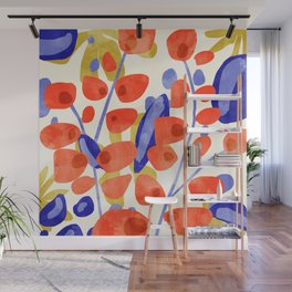All Good Things Are Wild & Free #painting Wall Mural