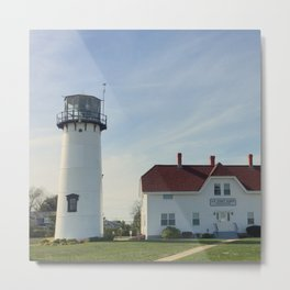 Cape Cod New England Lighthouse Metal Print