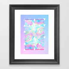 Lovesick Teenagers Framed Art Print