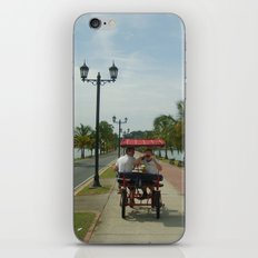 Beach Bike iPhone & iPod Skin