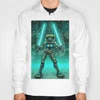 jedi Hoodies featuring JEDI GUARDIAN by Bungle