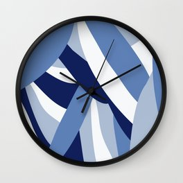 Pucciana Blue Wall Clock