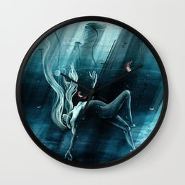 Dance of the Waterlily Wall Clock