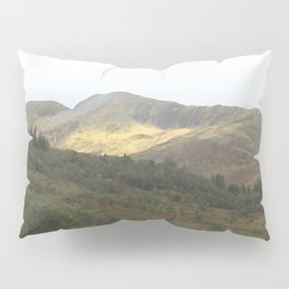 There's gold in the hills - Kinlochleven, Scotland Pillow Sham