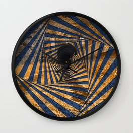 Paw Paw Tunnel - Spiral Psychedelia Wall Clock