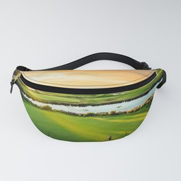 Golfing the Gong AE Fanny Pack