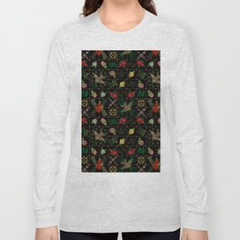 Swallows in a Spanish Rose Garden Long Sleeve T-shirt