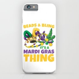 Beads And Bling iPhone Case