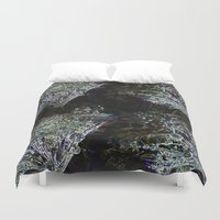 coconut wishes Duvet Covers featuring wishes by Pebbaline