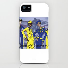 Sigma Supports the Troops iPhone Case