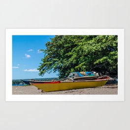 Traditional Filipino Kayak Art Print