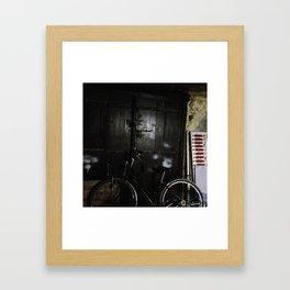 #283 A street still-life in Stone Town Framed Art Print