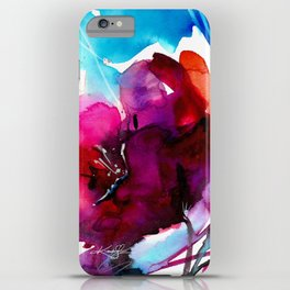 Colorful Bloom No. 2 by Kathy Morton Stanion iPhone Case