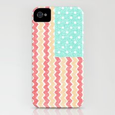 Zig Zag Flag. iPhone (4, 4s) Slim Case