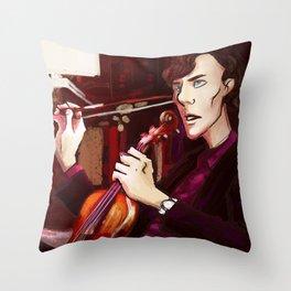 Sherlock. Throw Pillow
