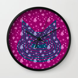 Omni Cat I Wall Clock