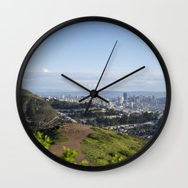 San Francisco Skyline from Mt. Davidson Wall Clock