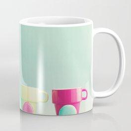 Macarons, macaroons and coffee, pop art Coffee Mug
