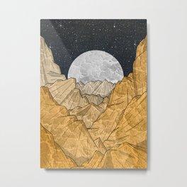 Copper Mounts Metal Print